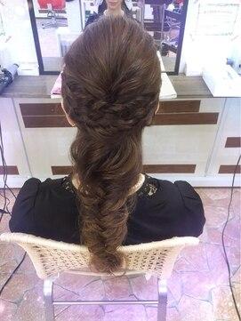 ココシブヤ 柏店 hair space COCO Shibuyaフィッシュボーン
