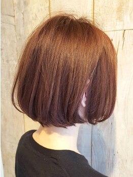 グッドネス ヘアー ガレージ(GOODNESS hair GARAGE)の写真/【ショート/ボブが得意なStylist在籍】朝のセット時間がなくても、髪質や癖に合わせたスタイルなら再現性◎