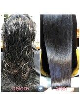 ブローテ ヘアアンドメイク(brote hair&make)高難易度縮毛矯正 57