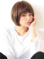 《Agu hair》うる艶カラーやわらかショート
