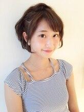 アイルビーヘア(I'll b hair)【下北沢*I'll b hair*】斜めバングハーフアップアレンジ