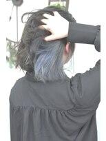 ヘアーサロン エール 原宿(hair salon ailes)(ailes原宿)style306 インナーカラーホワイトブルージュ