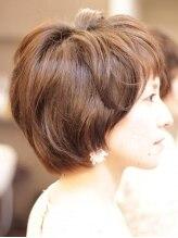 マオヘアー(MAO hair)【MAOhair】乾かすだけで内巻き柔らかニュアンスショート