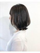 ラトリエコンタン(L´atelier Content)【L`atelier Content miho】黒髪 小顔ミディ 矯正×デジパー