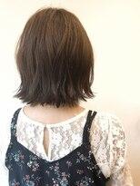 ヘアサロン ロータス(Hair Salon Lotus)Hair salon Lotus 外ハネボブ グレージュカラー