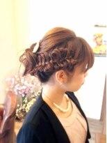 ヘア デザイン スタイリー(Hair Design stylee)りぼん編み込み☆stylee