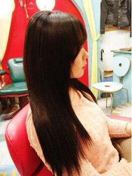 エクステ美容室 セクション 横浜石川町(SECTION)の写真/ショートやボブでもとにかく自然!どんな髪型でも【違和感ゼロ】の馴染むエクステを提供!職人技をお試しあれ