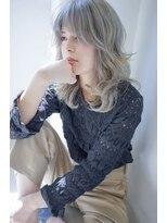 ヴィークス ヘア(vicus hair)アイスブルーグレー×ハイライト by 井上瑛絵