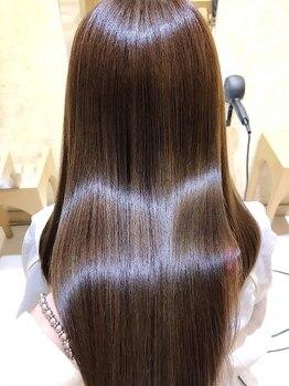 ティエラ 原宿 表参道(Tierra)の写真/《大人ヘルシーは素髪で勝負★》【Aujua】トリートメントで髪の芯から美しく輝く♪【原宿 Tierra】