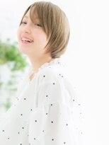 ココデサロン ハナレ 浅草(cocode salon HANARE)【浅草美容院HANARE】ハイライトカラー×ショートくびれヘアc