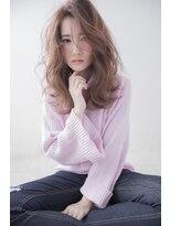 シャインヘアフラッペ 新百合ヶ丘2号店(Shine hair frappe)【新百合】丸みショート無造作カールボブディイルミナカラー45