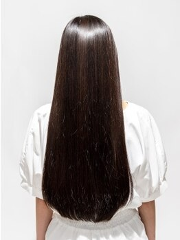 ブロッサム 若葉店(Blossom)の写真/【髪質改善エステ「ハナサカス」で自分史上最高のツヤ髪に】