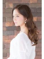 アッシュタカサキ(ash takasaki)耳掛けミルクティーグレージュ大人かわいいゆるふわロング