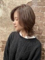 マギーヘア(magiy hair)オススメセミロングスタイル