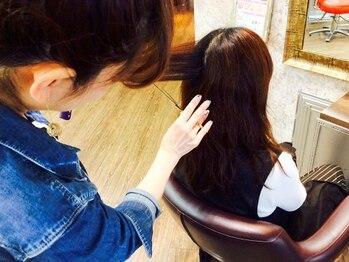 美ゼンヘアー 東久留米店 ZEN hairの写真/東久留米駅徒歩3分♪女性ならではの細やかな視点と気配りでしっかりカウンセリング。なりたいを叶えます☆