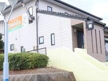ヘアースタジオタワラ(Hair studio TAWARA)の雰囲気(オレンジの看板が目印)