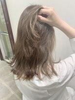 ヘアーサロン エール 原宿(hair salon ailes)(ailes 原宿)style465 ダイヤモンドインナーグラデーション