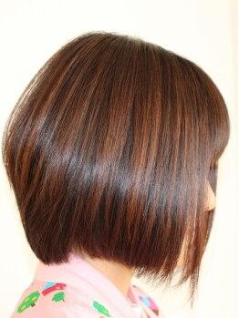 美容室 アヴァンセ(AVANCER)の写真/「髪質が悪いから仕方ない…」と諦めないで!AVANCERに通えばどんな髪質も変わります。是非ご来店ください!