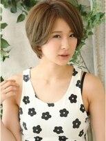 モニカ 横須賀中央店(Monica)レイヤーon内巻きショートならファッション合わせも簡単