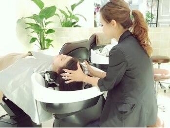タブーケイ(TABOO.K)の写真/名駅◆話題のAujuaヘッドスパで極上なひと時♪頭皮からの徹底ケアで髪への即効性も◎