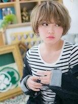 カバーヘア ブリス 北浦和西口店(COVER HAIR bliss)*bliss北浦和*ふわくしゅ◎外国人風小顔マッシュショートa