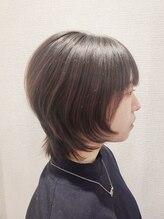 ヘアアンドメイク スタジオ えにし(Hair&Make Studio)ショートウルフ