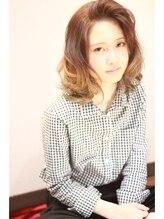 ヘアーデザイン アズール(Hair Design Azur)【Azur】プラチナグレージュ☆グラデ♪