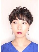 ヘアークリニック ラクシア 石巻(Hair Clinic LAXIA Ishinomaki)個性派マッシュショート