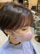 アイドットシーオー(i.co)フェイスフレーミング ショートヘア