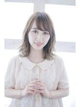 ルーシー 新宿(Lucy)【Lucy 新宿】無造作切りっぱなしグレージュ