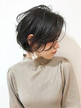 """ロッカ ヘアーイノベーション(rocca hair innovation)の写真/目力アップの前髪も、横顔美人をつくるラインもお任せ◎緻密なカット技術で""""魅せたい印象""""を創る。[稲毛]"""