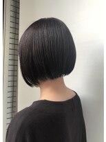 ドォート(Dote hair make)【林's】ミニボブ ラベンダーカラー