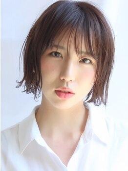 シゼン(SHIZEN.)の写真/前髪や顔周りの細部にこだわって施術◎髪質・くせを見極めてあなたに合ったスタイルをご提案します★