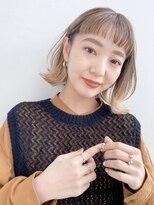 ガーデントウキョウ(GARDEN Tokyo)【GARDEN荒井夏海】ふんわりレイヤーボブ×ハイライトカラー