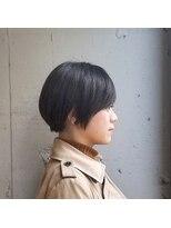 ヘアーメイク スクエア ウーノ(HAIR MAKE SQUARE uno)ストレートショート
