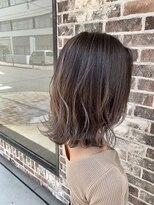 ヘアー アイス カンナ(HAIR ICI Canna)透け感たっぷりハイライトカラー!