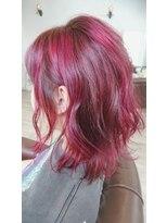 クッキー ヘアーアンドメイク(COOKIE Hair&Make)【COOKIE】ピンクミディ