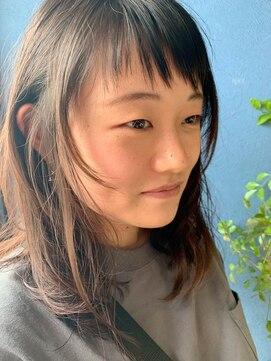 クブヘアー(kubu hair)似合わせショートバング