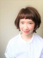 ポンヘアー(PON hair)大人かわいいフレンチガーリーヘア