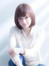 シェルハ(XELHA)☆銀座XELHA☆艶と透明感の小顔グレージュボブ