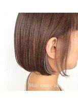 ヘアー スペース オフ(Hair Space Off)重めボブヘア