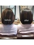 melt 髪質改善