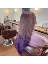 ヘアメイク スコア(Hair Make S CORE)ピンクグラデーション