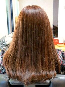 ヘア ミルキィの写真/天然由来のカラーで髪のメンテナンス☆地肌へのダメージや髪のハリコシが気になる方にオススメです♪