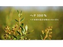 健康・安全★天然ヘナと92%植物性オーガニックカラー専門サロン