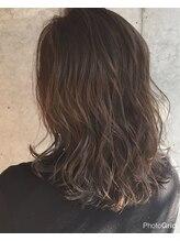 ヘア ラボ ニコ 藤沢店(hair Labo nico...)パールグレー