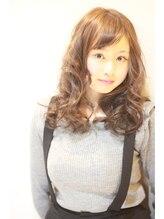 ヘアーデザイン アズール(Hair Design Azur)【Azur】☆大人気モロッカンカラー 甘めバングピンクアッシュ♪