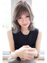 エイト ヘアサロン 渋谷本店(EIGHT)【EIGHT渋谷本店】くびれミディ×モーブカラー×ハニーヘア