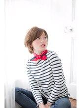 リュクスフォーヘアー(LUXE.for.hair)[LUXEforhair]AVEDAカラーでグレージュショートに☆ 滝本