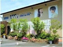 美容室 セラヴィ 福島本店の雰囲気(地域の皆様に愛されて、福島で22年!駐車場は12台を完備。)